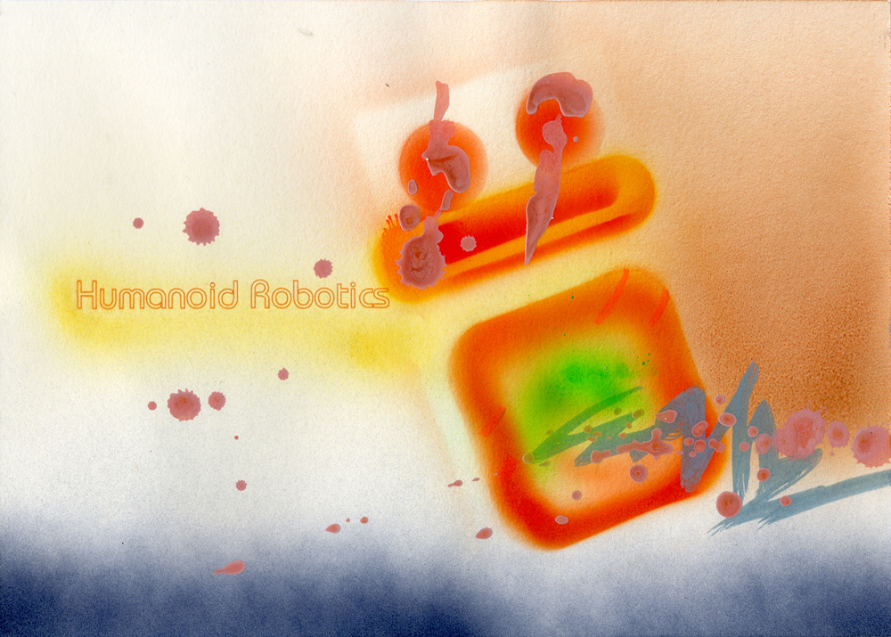 Humanoid Robotics, 2015, Mixed Media, 21 x 29,7 cm
