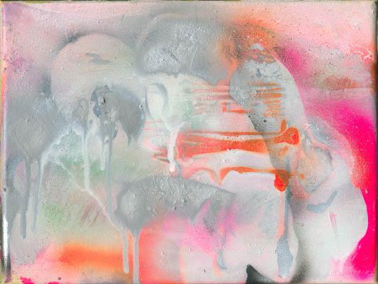 Bild2, Edition Amok, 2005, Öl auf Leinwand, 18 x 24 cm