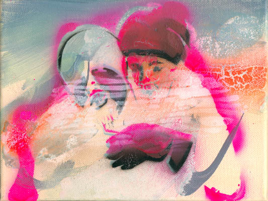 Bild9, Edition Amok, 2005, Öl auf Leinwand, 18 x 24 cm